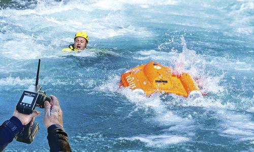 planche de sauvetage motorisée - OceanAlpha
