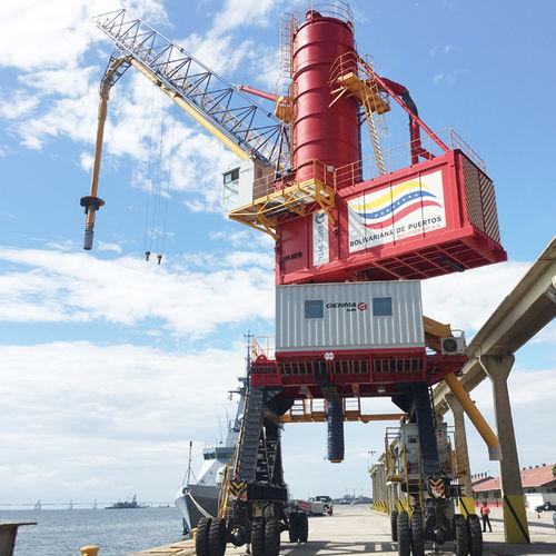 déchargeur de navire pneumatique - GENMA SOLUTION