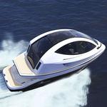 bateau promenade / in-bord hydrojet / diesel / électrique