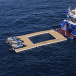 piscine flottante / modulable / pour yacht