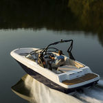 runabout in-bord / à double console / bow-rider / de pêche sportive