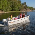 barque hors-bord / open / de pêche sportive / max. 5 personnes