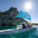 Bimini top pour kayak / en nylon