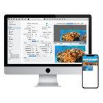 logiciel de navigation, positionnement et acquisition de données / de contrôle / de plongée / marin