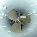 propulseur fixe / pour super-yacht à voile / hydraulique / à tunnel