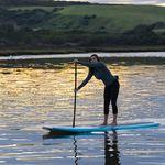 SUP longboard / en bambou / en PSE