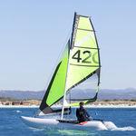 catamaran de sport gonflable / solitaire / multiple / démontable