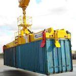 spreader pour conteneur / pour grue portuaire mobile / télescopique / de type twin-lift