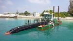 drague suceuse à désagrégateur / catamaran / in-bord / diesel