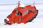 bateau pilote / in-bord / en aluminium