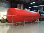 réservoir de gaz / de stockage temporaire / souple