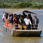 bateau à passagers / hors-bord / en aluminium / jon boat