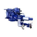 système de propulsion pour navire / pour bateau / hybride diesel-électrique