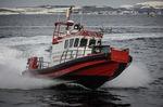 bateau professionnel bateau pompier / in-bord / en aluminium