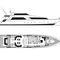 super-yacht de pêche sportive
