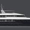 super-yacht de croisière / avec timonerie / coque à déplacement / 7 cabines