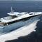 super-yacht de croisière / à fly / en aluminium / coque planante