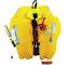 gilet de sauvetage gonflable automatique / 290 N / avec harnais de sécurité