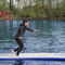 jeu aquatique piste de course
