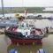 bateau de travail / remorqueur / stern-drive