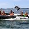 bateau pneumatique propulsion par jet-ski