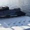 ponton flottant / pour amarrage à sec / pour marina / pour jet-ski
