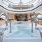 mega-yacht de croisière / à fly