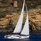sailing-yacht de croisière / salon de pont / cockpit central / 4 cabines