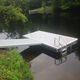 ponton flottant / d'amarrage / pour marina / en polyéthylène