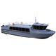 bateau professionnel bateau de recherche et sauvetage / bateau de transport de personnel / bateau de support pour la plongée / in-bord