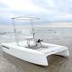 bateau à pédales monoplace / propulsion électrique
