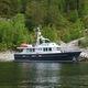 motor-yacht de croisière / trawler / à fly