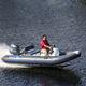 bateau pneumatique hors-bord / RIB / à console centrale / à console jockey