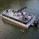 bateau ponton hors-bord / tri-tube / de pêche sportive / max. 12 personnes