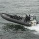 bateau militaire / hors-bord / bateau pneumatique semi-rigide