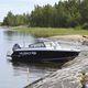 runabout hors-bord / bow-rider / de pêche / en aluminium