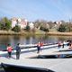ponton flottant / d'amarrage / pour aviron
