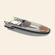 bateau pneumatique in-bord / RIB / à console centrale / annexe pour yacht