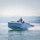 coque open annexe pour yacht / in-bord / à console centrale / max. 10 personnes
