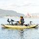 kayak sit-on-top / gonflable / de pêche / monoplace