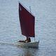 canot voile-aviron traditionnel / à cockpit ouvert / gréement aurique / transportable