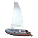 bateau pneumatique hors-bord / RIB / pliable / sail-drive
