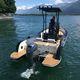 bateau de pêche-promenade hors-bord / en aluminium / non spécifié