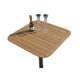 table pour bateau / pour yacht / en teck
