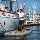 plateforme pour yacht / multifonction / gonflable