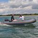 bateau pneumatique hors-bord / semi-rigide / pliable / open
