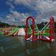 jeu aquatique parc / gonflable / flottant