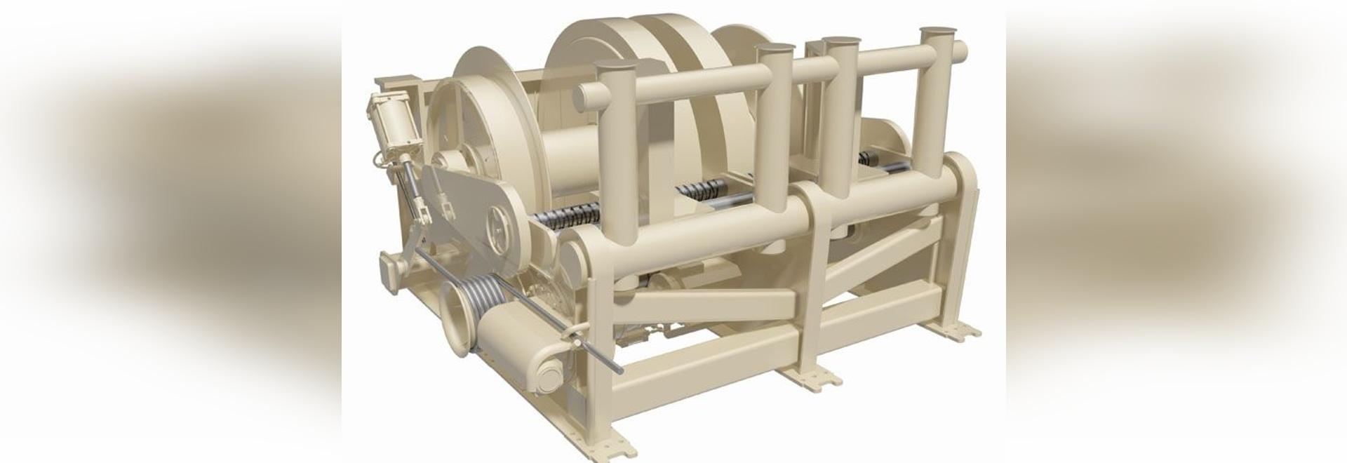 Baydelta opte pour le treuil de remorquage électrique marin de Rapp