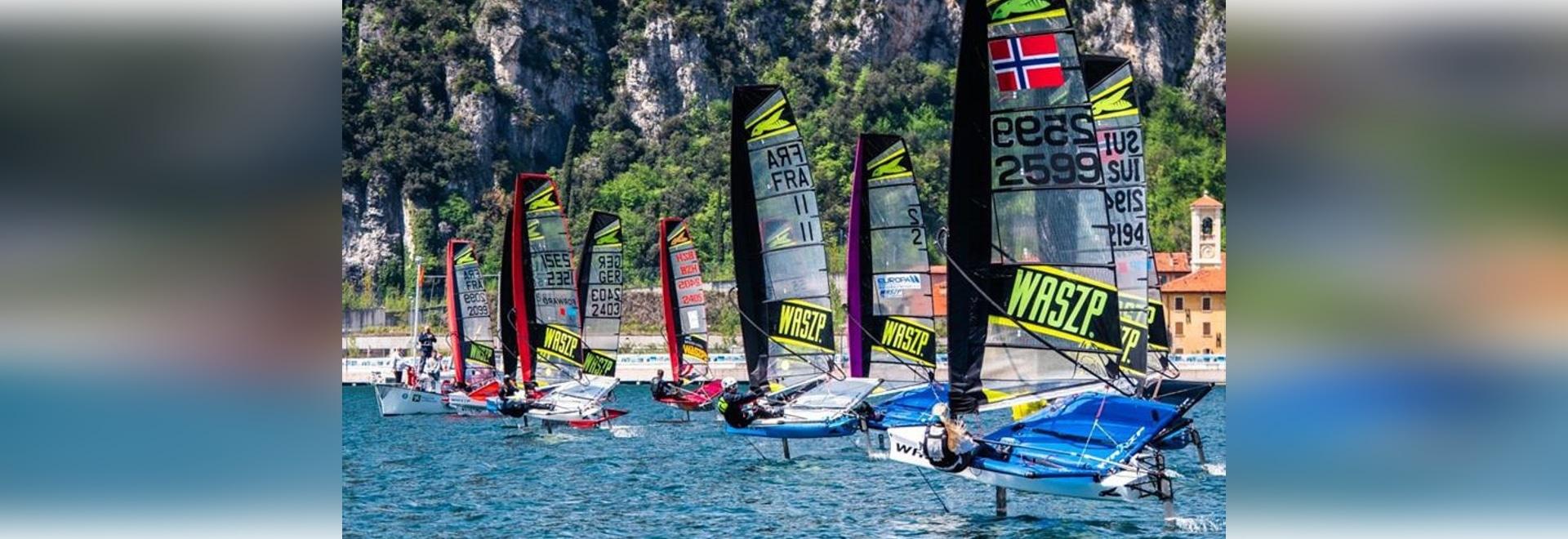Les Championnats d'Europe WASZP en route pour une flotte record