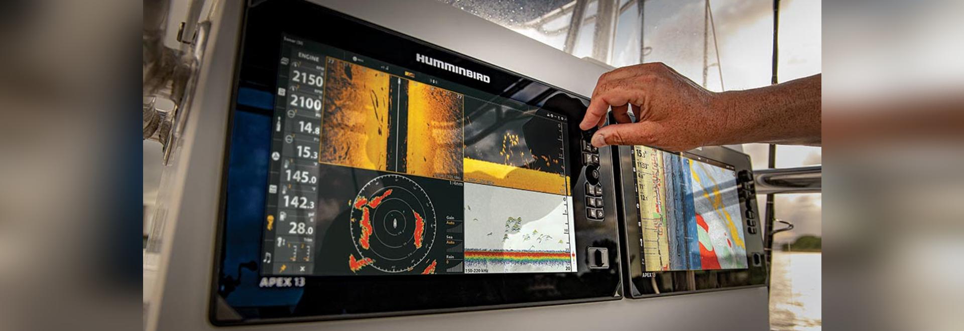 Le colibri présente la série APEX : Un appareil multifonction haut de gamme avec un écran haute définition, un sonar de première classe et des options de mise en réseau